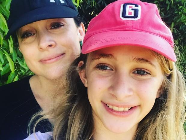 Gabriela Duarte e a filha, Manuela (Foto: Reprodução/Instagram)