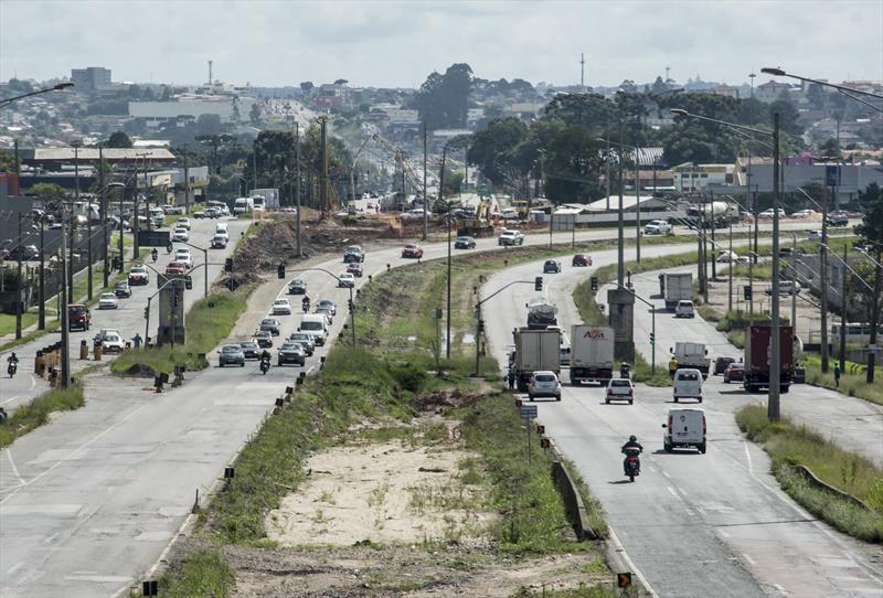Obra na Linha Verde provoca desvio  nos bairros Atuba e Bacacheri a partir desta segunda (23)