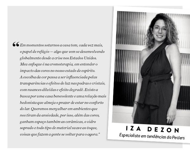 Iza Dezon, especialista em tendências da Peclers (Foto: Leo Lemos / Divulgação)