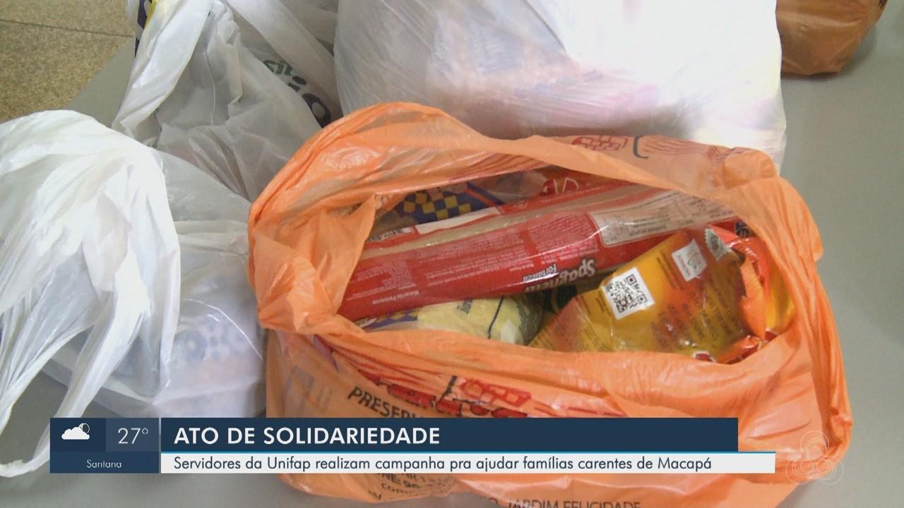 Campanha arrecada alimentos e produtos de limpeza a famílias carentes do AP