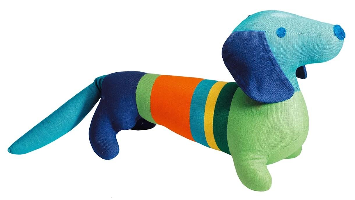 Waldi, o primeiro mascote das Olimpíadas (Foto: COI/Reprodução)