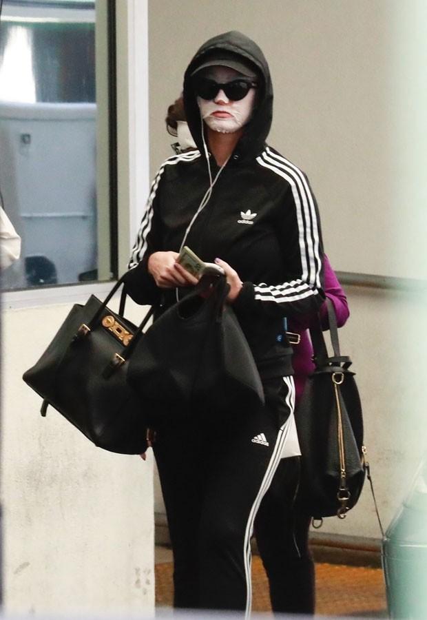 Katy Perry e a mãe, Mary Perry (Foto: Backgrid)