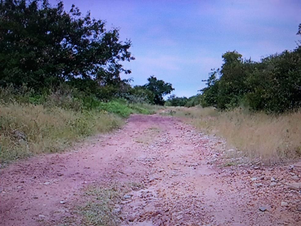 Competidores de trekking são assaltados durante trilha — Foto: Reprodução/Inter TV Cabugi