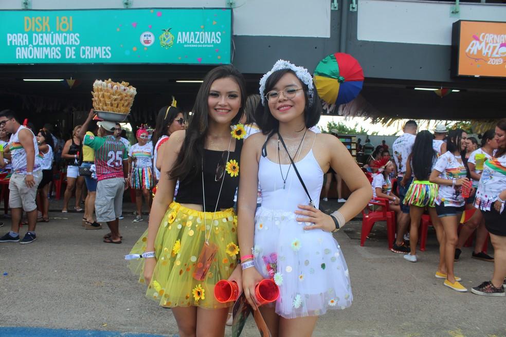 Galo de Manaus aconteceu nesta terça-feira de carnaval, no Sambódromo de Manaus — Foto: Indiara Bessa/G1 AM