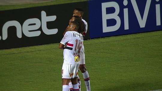 Os gols de São Paulo 2 x 0 CRB pela 3ª fase da Copa do Brasil