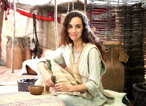 Bruna Pazinato é a protagonista da minissérie bíblica Lia (Foto: Munir Chatak/Record)