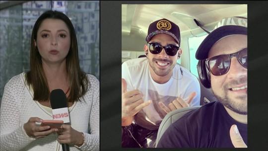 Anac: avião que levava Gabriel Diniz estava em situação regular