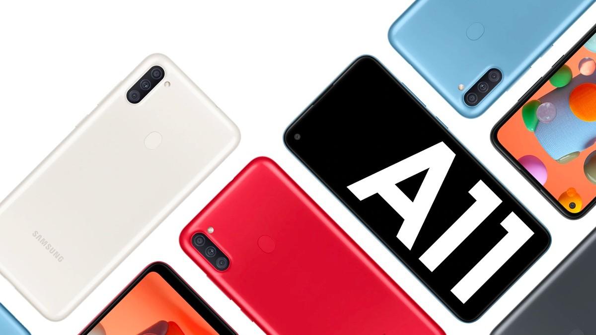 Galaxy A11: Samsung libera Android 11 para o celular de entrada