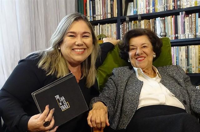 Ruth Rocha e Katy Navarro (Foto: Divulgação)