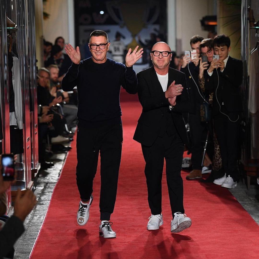 Dolce e Stefano Gabbana (Foto: Reprodução Instagram)