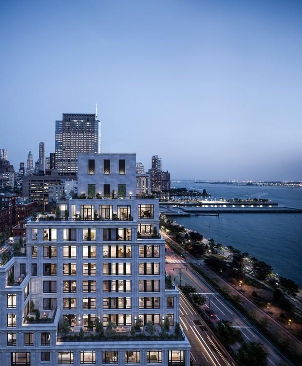 O 70 Vestry é um edifício construído pelo famoso estúdio do arquiteto Robert A.M. Stern (Foto: Related Companies/ Reprodução)