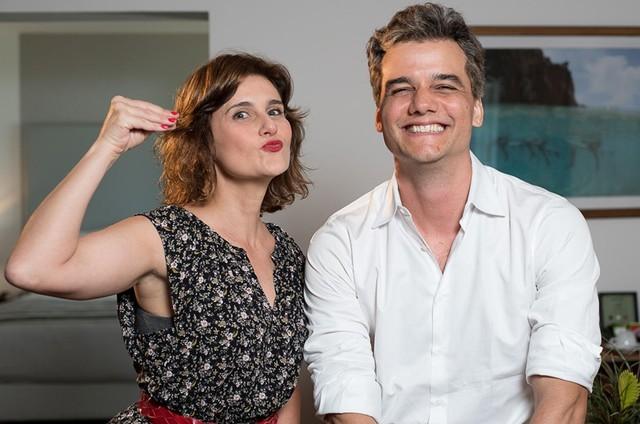 Simone Zuccolotto e Wagner Moura (Foto: Ana Paula Amorim)