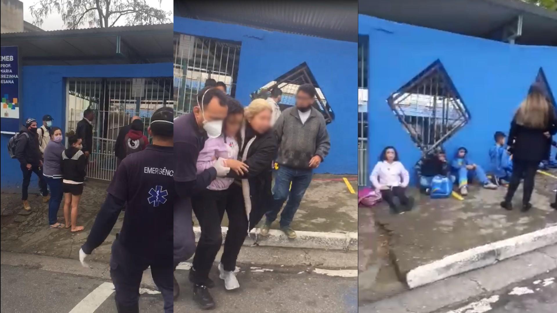 Crianças passam mal com gás de pimenta após ação da Guarda Civil de São Bernardo do Campo, na Grande SP