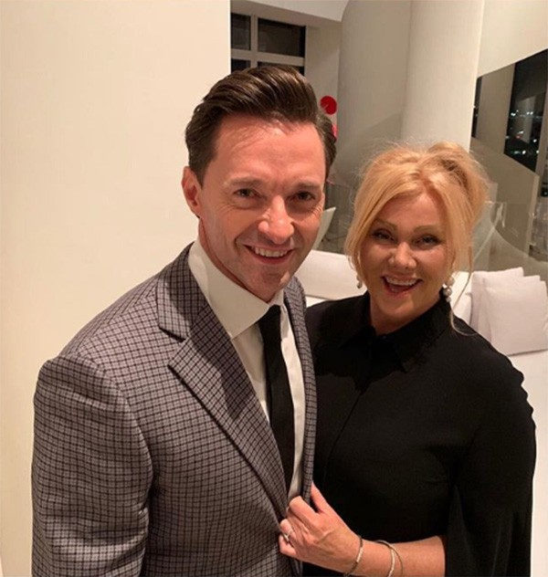 Hugh Jackman e Deborra-lee Furness (Foto: Instagram)