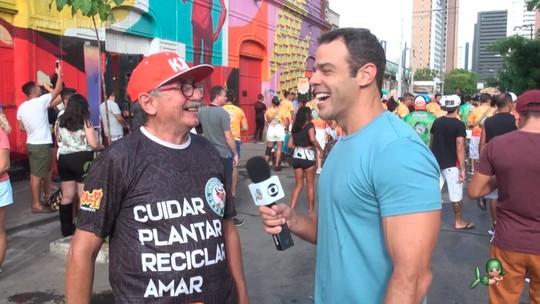Foto: (Preparação de carnaval em Fortaleza)