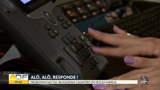 Famílias beneficiadas pelo Bolsa Família não conseguem atualizar cadastro pelo 156