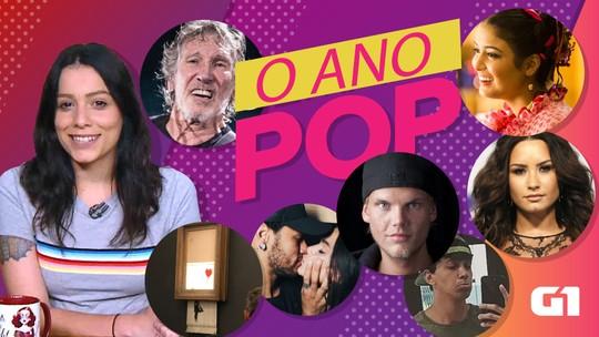 Ano Pop: Política na música, trama de reviravoltas, passado apagado e outros temas de 2018