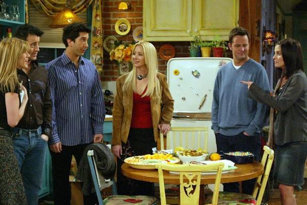 O elenco da série Friends (Foto: Reprodução)