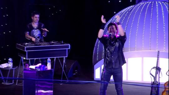 Paulo Ricardo começa a Festa Constelação com a música que é a cara do BBB: 'Vida Real'