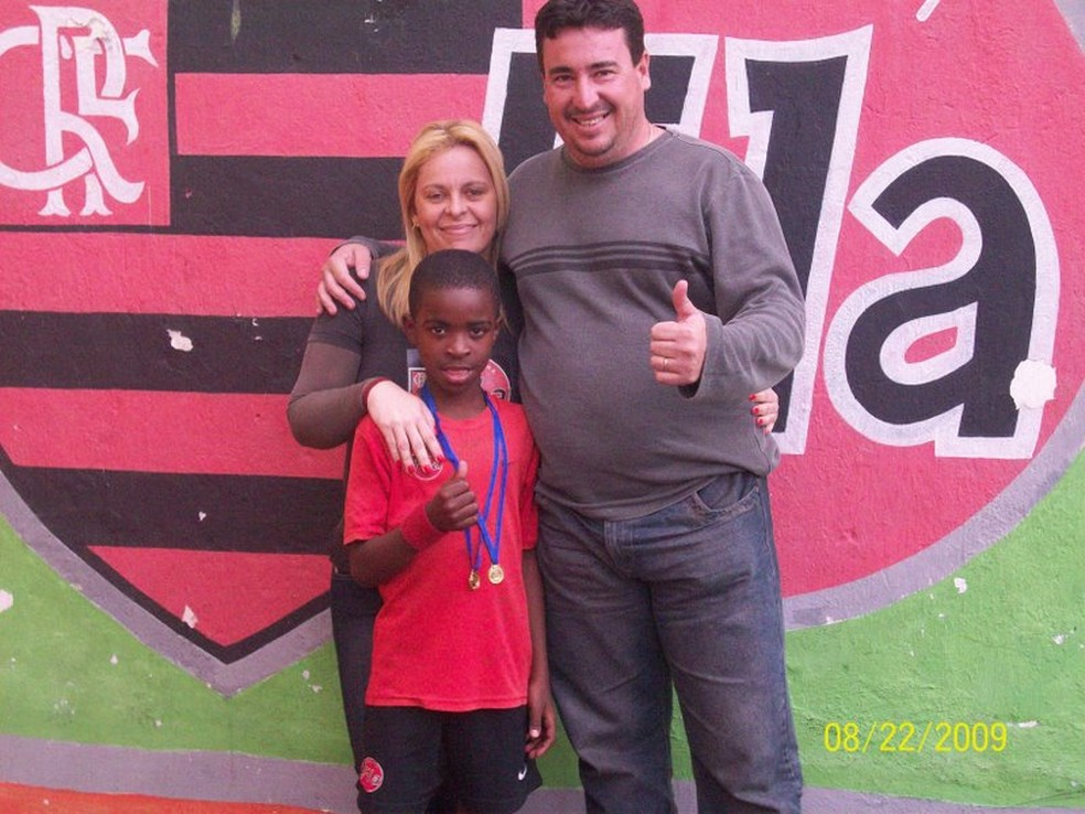 Vinicius Jr em 2009