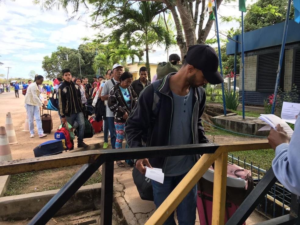 Até junho de 2017 mais de 6,4 mil venezuelanos fizeram pedido de refúgio em Roraima (Foto: Emily Costa/G1 RR)