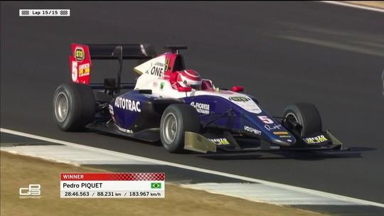 Pedro Piquet vence a Corrida 2 da GP3 da Grã-Bretanha