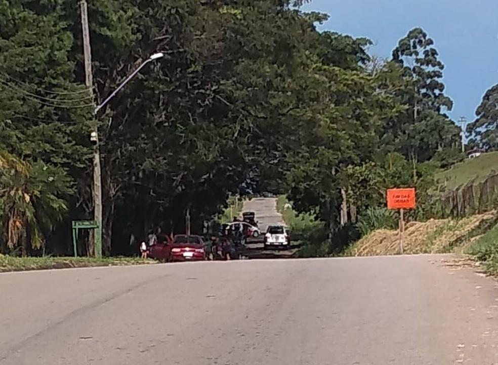 Homem de 46 anos é morto a facadas na zona leste de São José — Foto: Divulgação/ Redação Rede Policial