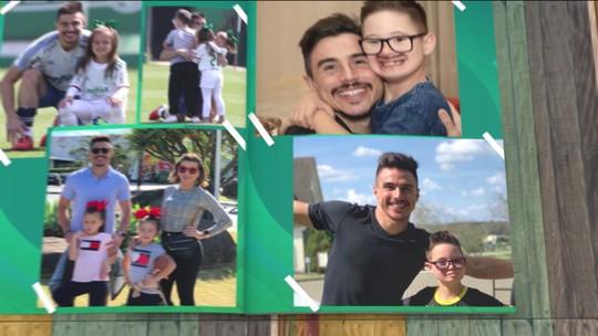 Willian, do Palmeiras, conta história da família e fala sobre importância de ações sociais