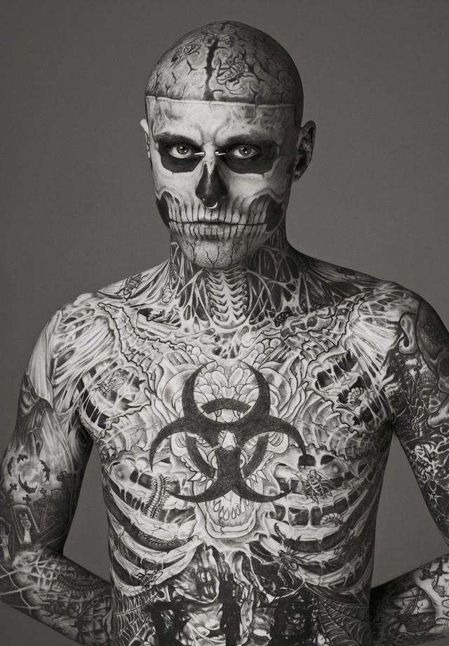 Rick Genest, o Zombie Boy (Foto: Divulgação)