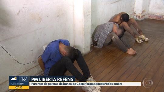 Criminosos sequestram parentes de gerente de banco em Caeté, na Grande BH