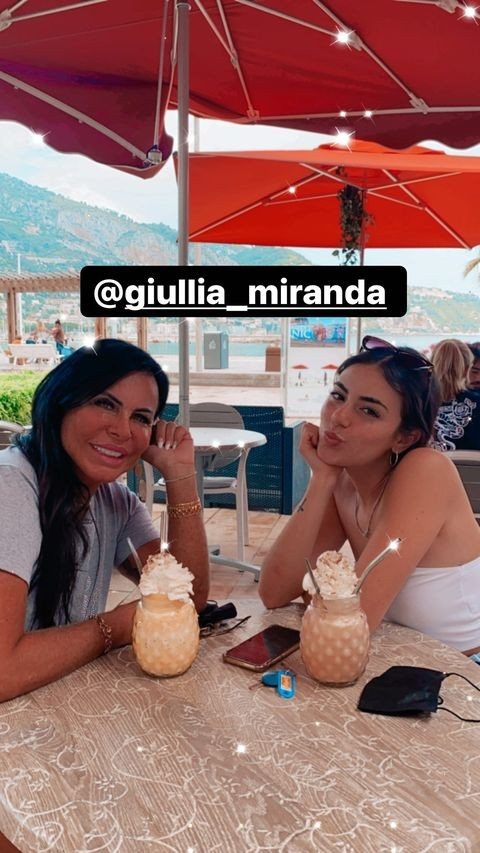 Giullia, filha de Gretchen (Foto: Reprodução/Instagram)