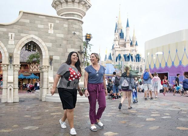 Fabiana Karla e Heloísa Périssé (Foto: Gregg Newton/Walt Disney World)