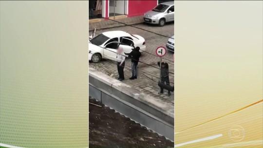 Segurança é reforçada em Morretes (PR) depois de assalto a banco na cidade