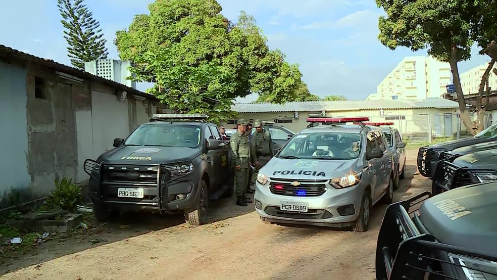 Reforço na segurança de Paulista por integrantes da Força Nacional começa nesta quarta-feira (30) — Foto: Reprodução/TV Globo
