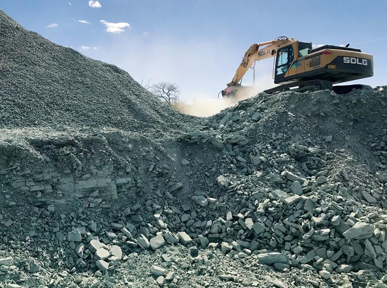 Adubo mineral, agromineração para fortalecer as plantas e melhorar a qualidade do solo (Foto: Embrapa/divulgação)