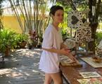 Bianca Bin produz mosaicos na quarentena | Arquivo pessoal