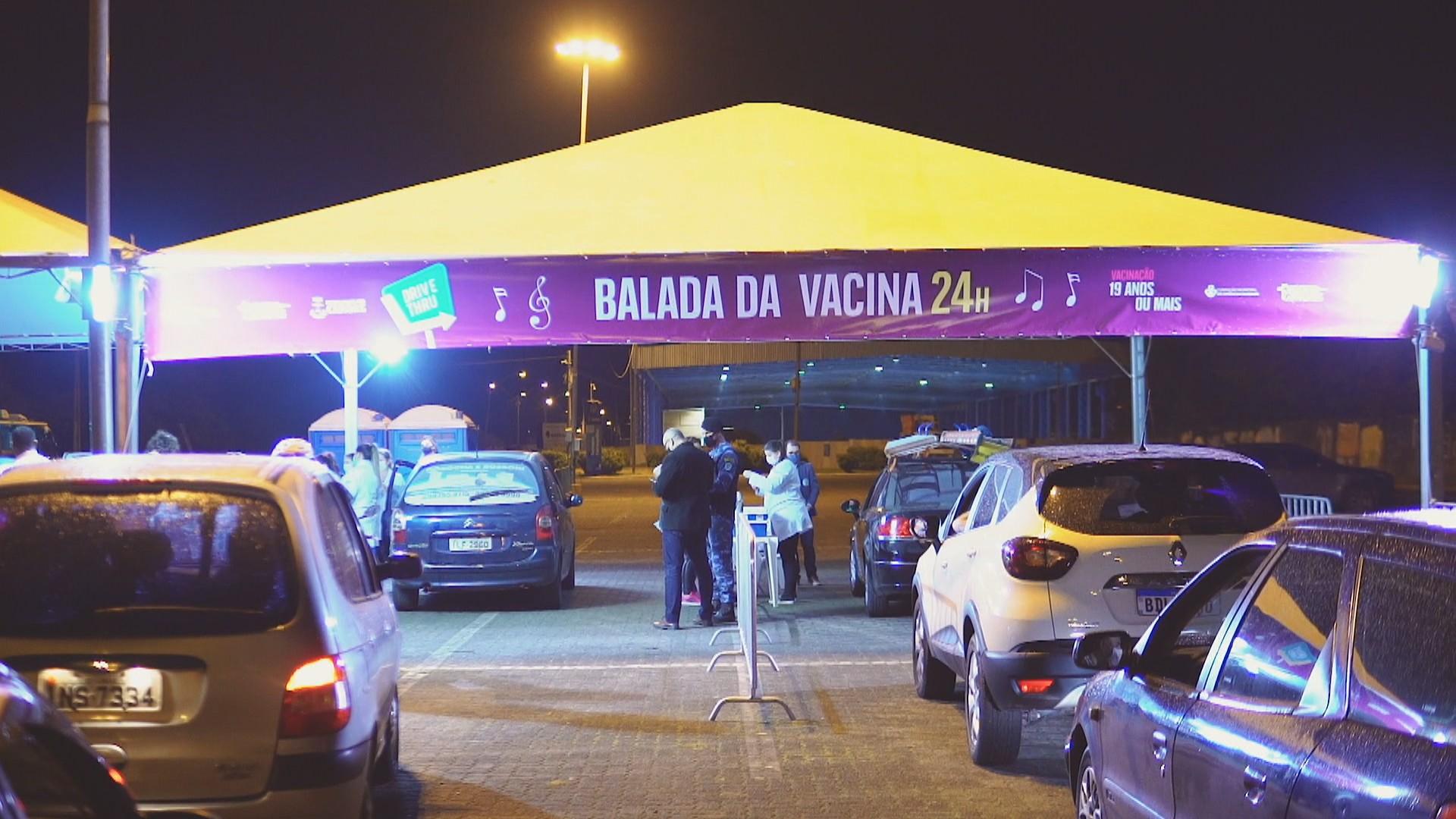 'Balada da Vacina' em Rio Claro incentiva imunização com a 2ª dose contra a Covid-19 nesta sexta