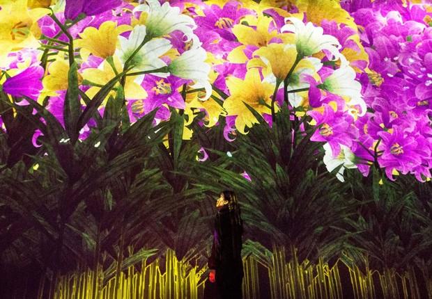 Digital Art Museum - spirit of flowers (Foto: Divulgação )