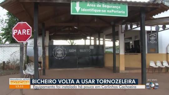 Carlinhos Cachoeira volta a usar tornozeleira eletrônica, em Goiânia