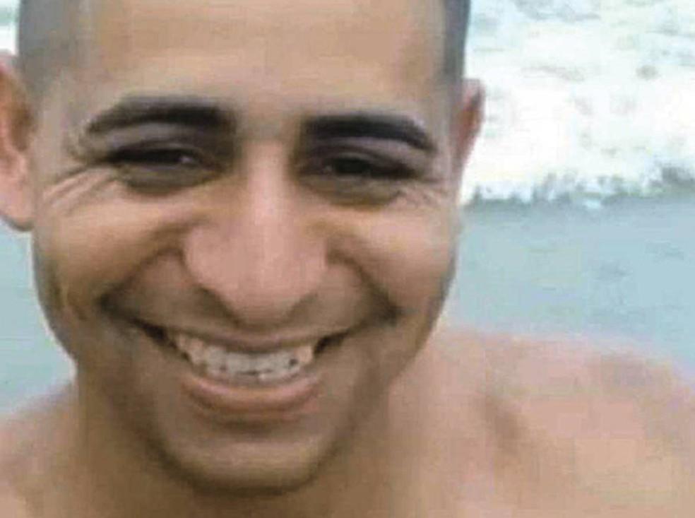 Corpo do vendedor Gilvan Pereira de Jesus, 33 anos, foi encontrado no domingo após desaparecer durante temporal no sábado, no ABC Paulista — Foto: Reprodução/Rede social