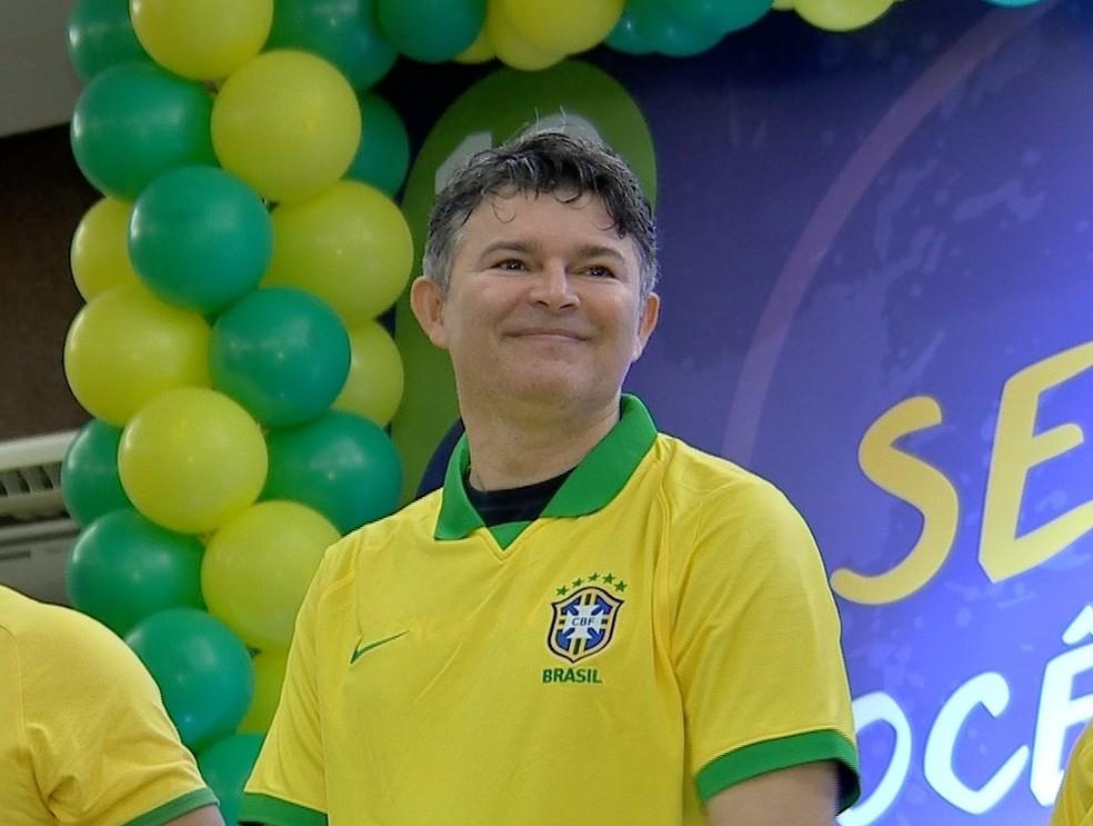 José Medeiros, candidato ao Senado — Foto: TVCA/Reprodução