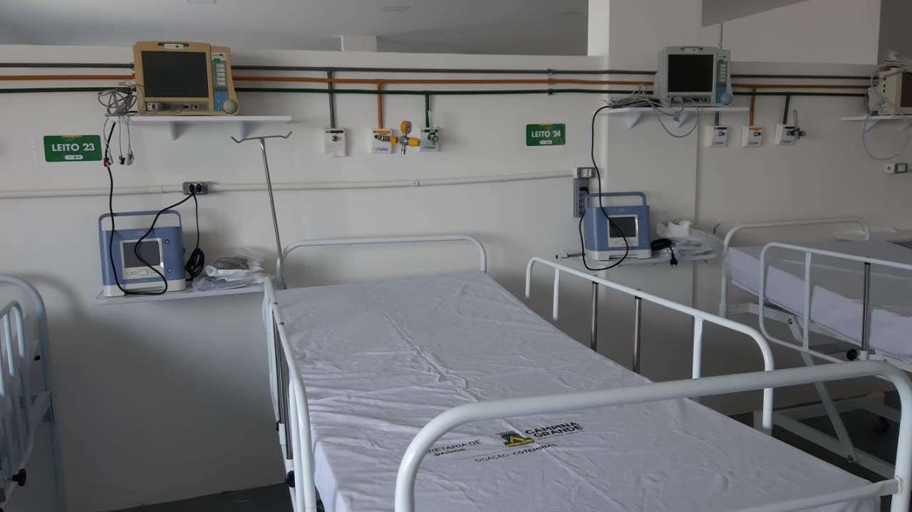 Lei garante internação de pacientes de coronavírus na rede privada na PB