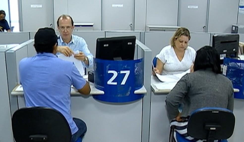 Primeira no Estado de SP, agência do INSS de Prudente passa a atuar por modo digital (Foto: Reprodução/TV Fronteira)
