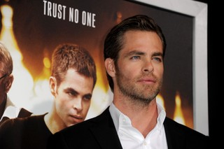 Chris Pine em première de filme em Los Angeles, nos Estados Unidos (Foto: Kevin Winter/ Getty Images/ AFP)