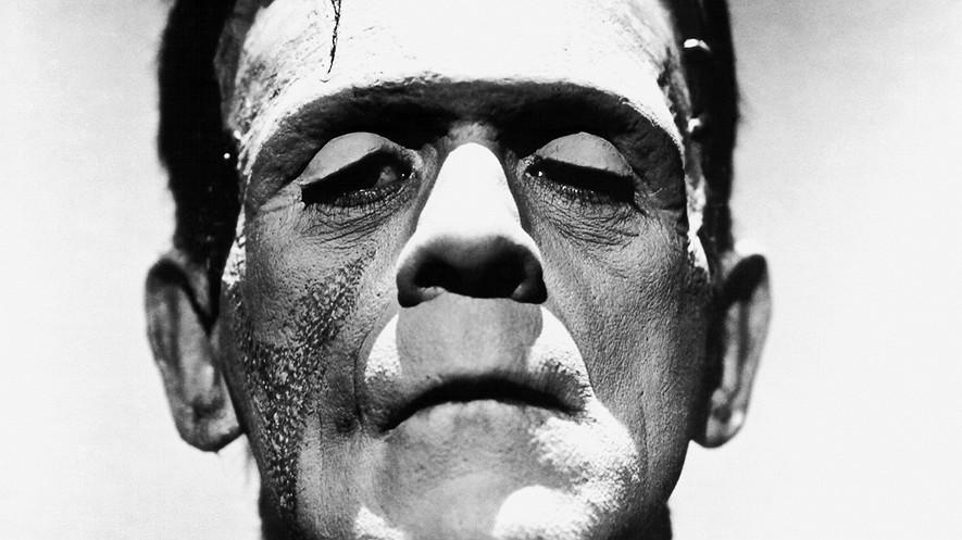 o ator Boris Karloff, no clássico Frankenstein, de 1931 (Foto: Reprodução)