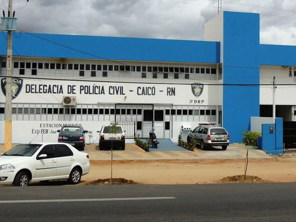 Delegacia de Caicó (Arquivo) — Foto: Eliezer Dantas