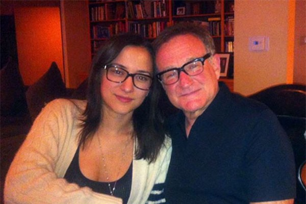 Zelda e Robin Williams (Foto: Instagram)
