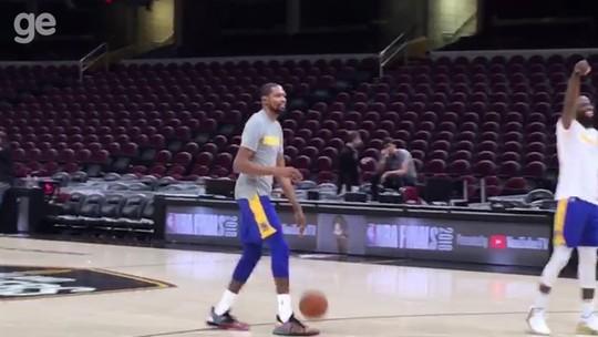 Dobradinha à vista? Durant pode repetir título da NBA e de MVP das Finais