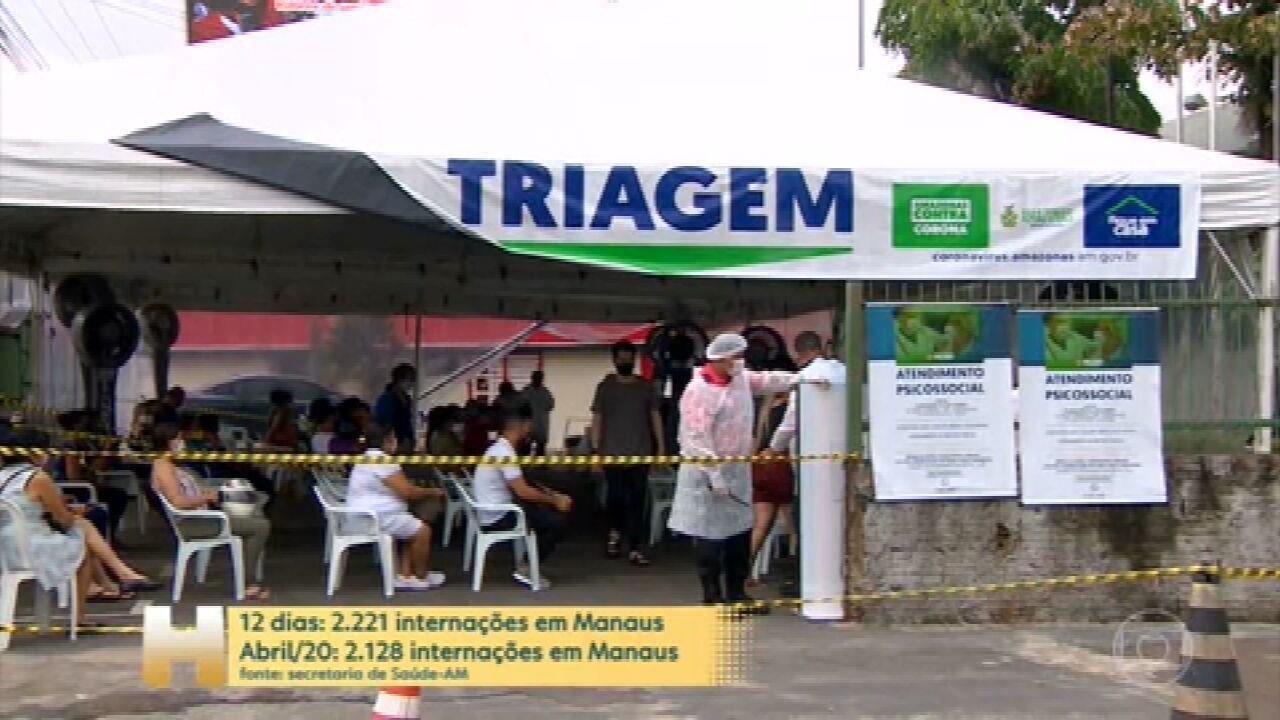 """Pazuello: """"Manaus é prioridade nacional nesse momento"""""""