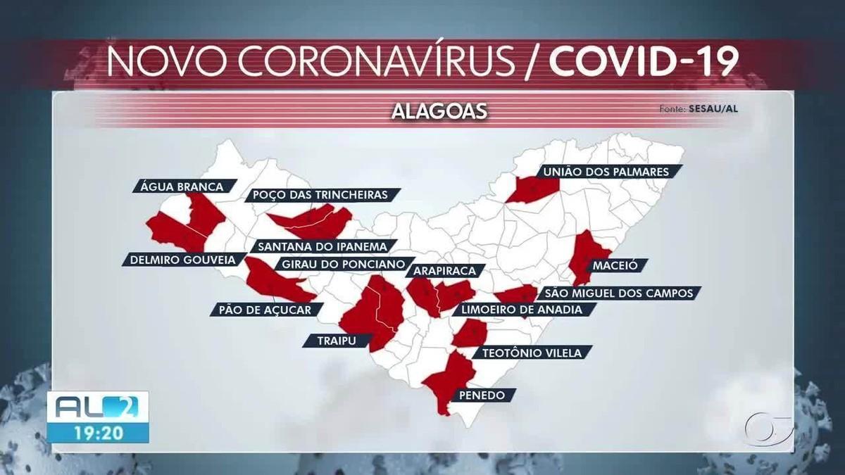 Mulher de 27 anos e outras 19 pessoas morrem de Covid em 24 horas em Alagoas